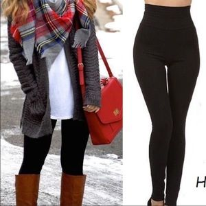 ✨COMING SOON✨High Waist Fleece Lined Legging